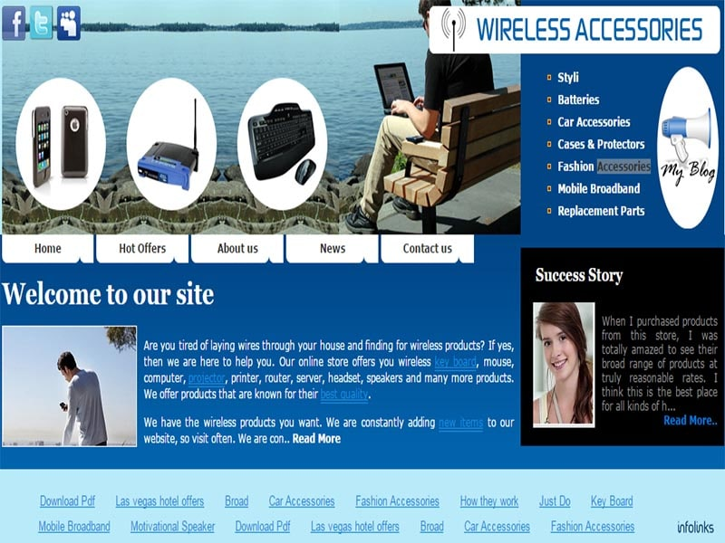 Wireless Accessories Website AmazonShope.com