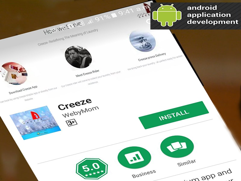 Android Application Creeze