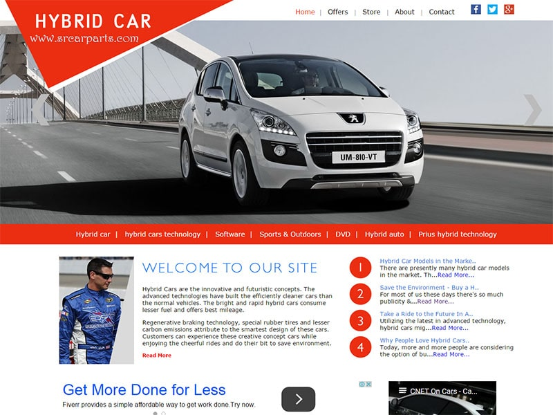 Car Parts Website SrcarParts.comLancashire Lawncare